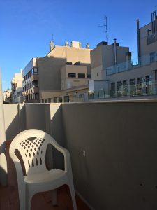 Terraza Habitación Hotel Marítimo