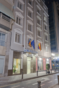 Fachada Hotel Marítimo