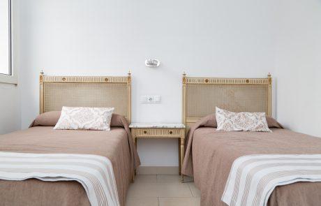 Habitación Doble Twin Hotel Marítimo
